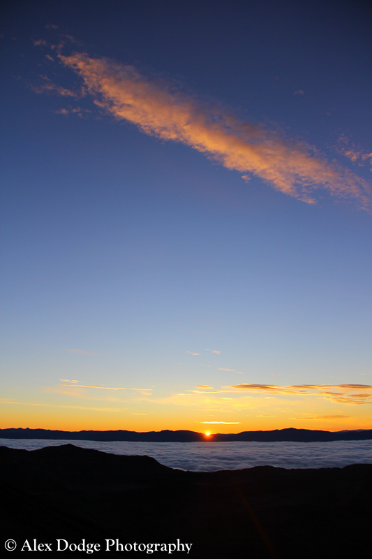 Mount Tongariro Sunrise