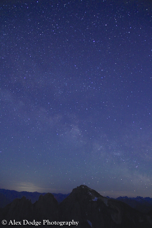Stars over Mount Index
